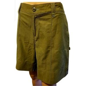 Horny Toad women Cargo khaki Shorts Sz 12 or L